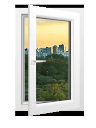 Одностворчатое окно<br>Rehau Blitz